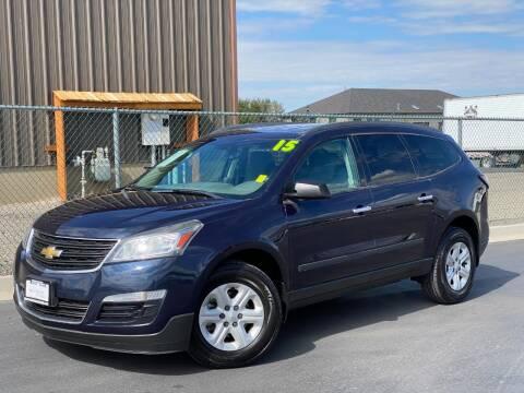 2015 Chevrolet Traverse for sale at Evolution Auto Sales LLC in Springville UT