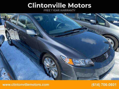 2009 Honda Civic for sale at Clintonville Motors in Columbus OH