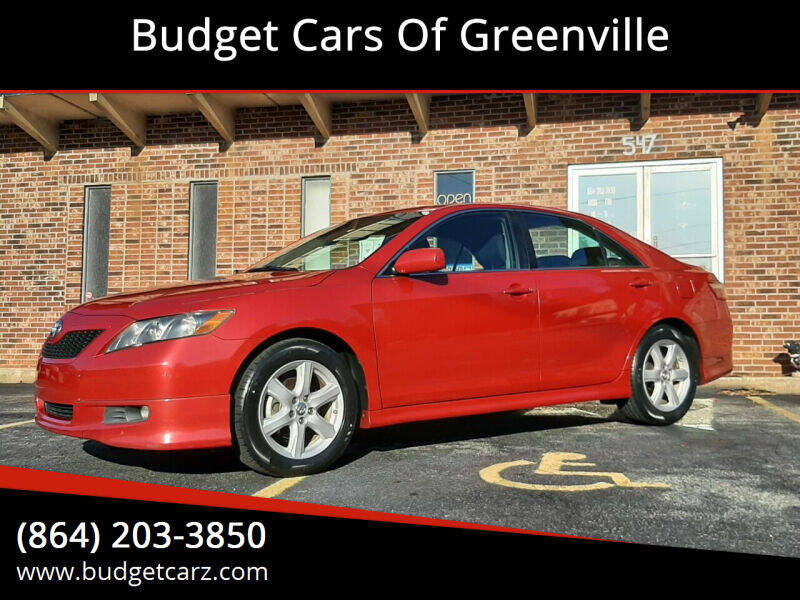 2009 Toyota Camry for sale at Budget Cars Of Greenville in Greenville SC