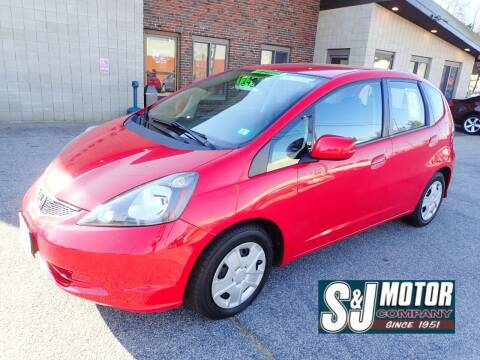 2013 Honda Fit for sale at S & J Motor Co Inc. in Merrimack NH