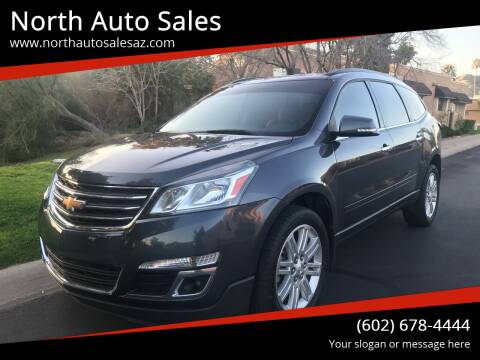2014 Chevrolet Traverse for sale at North Auto Sales in Phoenix AZ