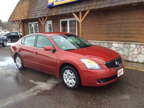 2009 Nissan Altima for sale at MOTORS N MORE in Brainerd MN