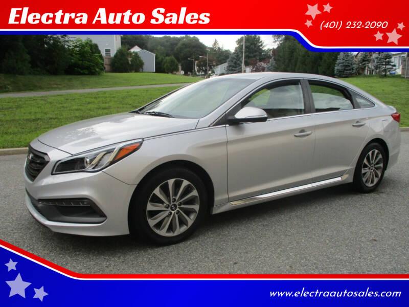 2015 Hyundai Sonata for sale at Electra Auto Sales in Johnston RI