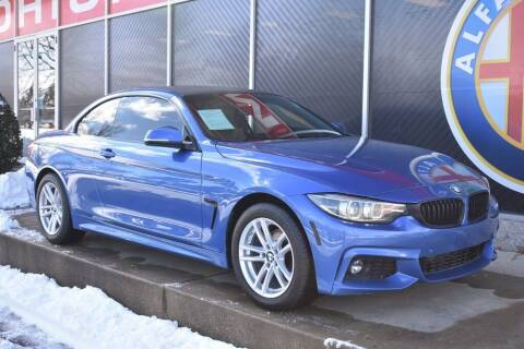 2018 BMW 4 Series for sale at Alfa Romeo & Fiat of Strongsville in Strongsville OH