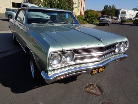 1965 Chevrolet Chevelle Malibu for sale at NorCal Auto Mart in Vacaville CA