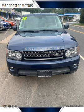 2013 Land Rover Range Rover Sport for sale at Manchester Motors in Manchester CT
