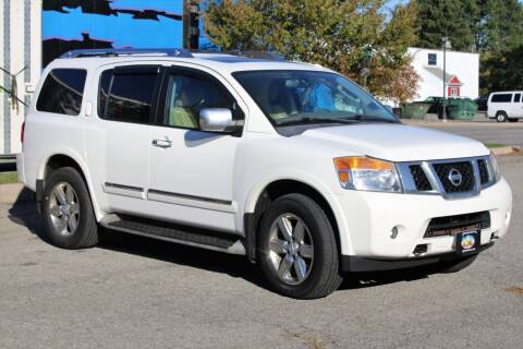 2011 Nissan Armada for sale at Great Lakes Classic Cars & Detail Shop in Hilton NY