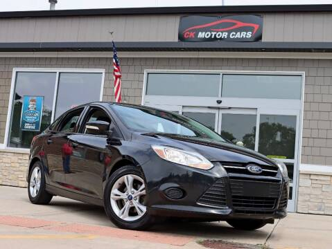 2014 Ford Focus for sale at CK MOTOR CARS in Elgin IL