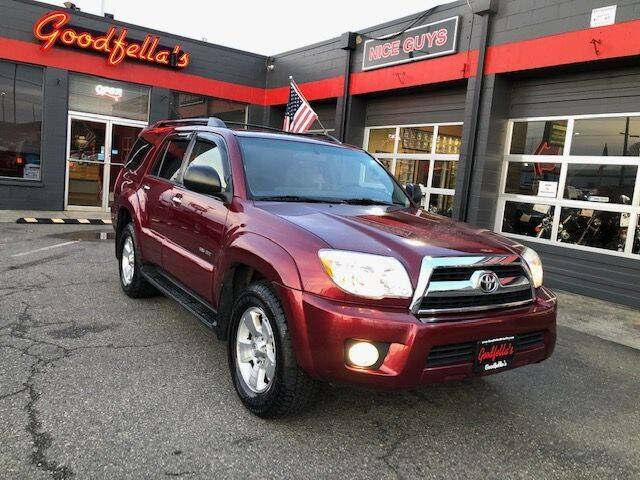 2006 Toyota 4Runner for sale at Goodfella's  Motor Company in Tacoma WA