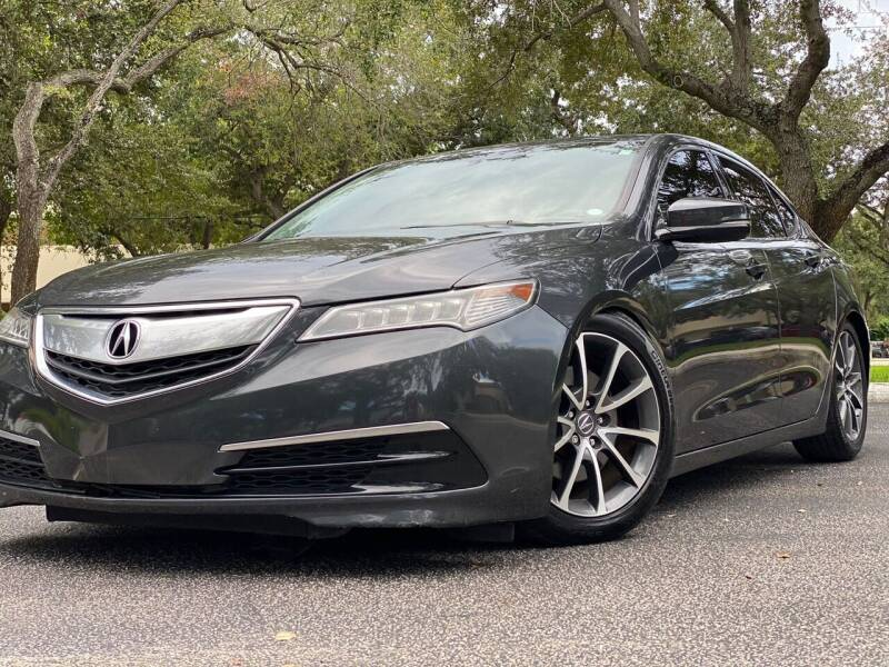 2015 Acura TLX for sale at HIGH PERFORMANCE MOTORS in Hollywood FL