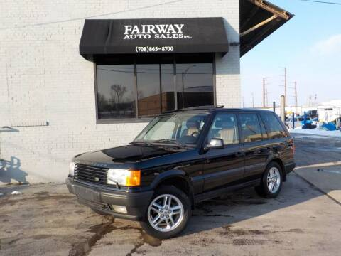 2000 Land Rover Range Rover for sale at FAIRWAY AUTO SALES, INC. in Melrose Park IL
