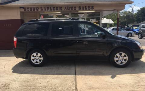 2008 Kia Sedona for sale at Bobby Lafleur Auto Sales in Lake Charles LA