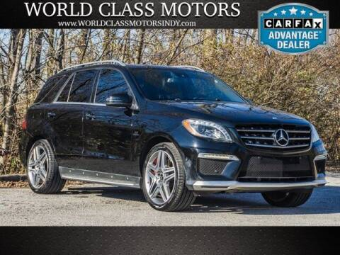 2013 Mercedes-Benz M-Class for sale at World Class Motors LLC in Noblesville IN