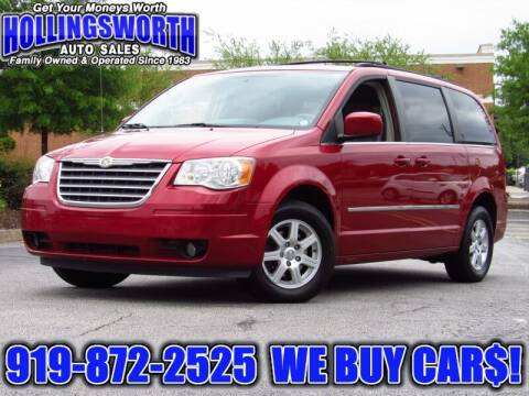 2010 Chrysler Town and Country for sale at Hollingsworth Auto Sales in Raleigh NC
