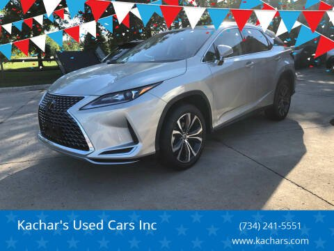 2020 Lexus RX 350 for sale at Kachar's Used Cars Inc in Monroe MI
