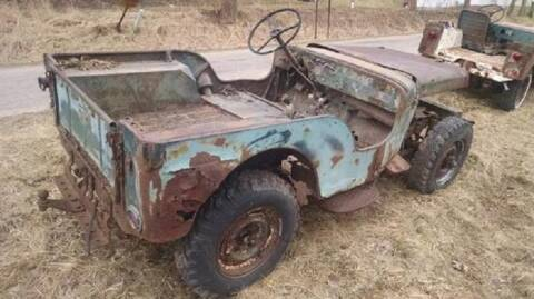 1948 Willys Jeep for sale at Haggle Me Classics in Hobart IN