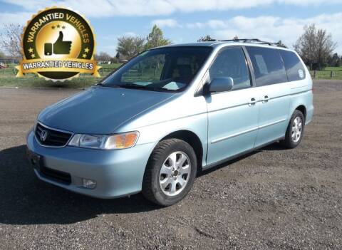 2004 Honda Odyssey for sale at Central Denver Auto Sales in Englewood CO