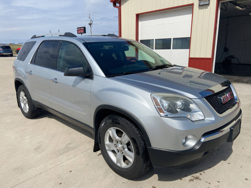 2012 GMC Acadia for sale at SCOTT LEMAN AUTOS in Goodfield IL