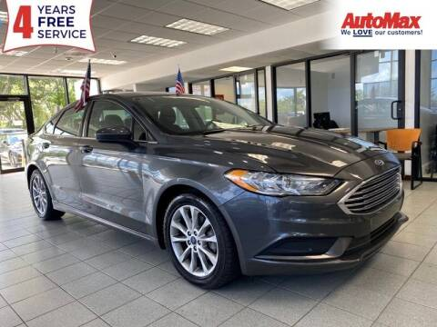 2017 Ford Fusion for sale at Auto Max in Hollywood FL