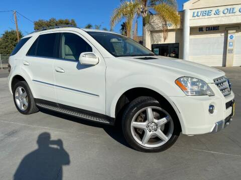 2009 Mercedes-Benz M-Class for sale at Luxury Auto Lounge in Costa Mesa CA