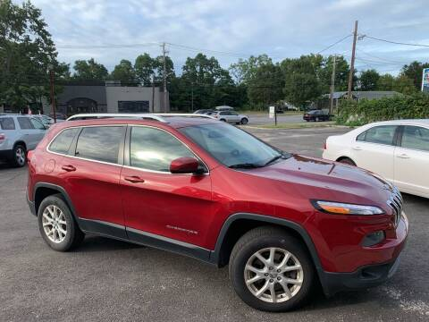 2014 Jeep Cherokee for sale at Primary Motors Inc in Commack NY