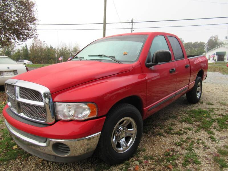 2002 Dodge Ram Pickup 1500 for sale at Dallas Auto Mart in Dallas GA