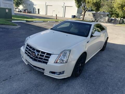 2013 Cadillac CTS for sale at Best Price Car Dealer in Hallandale Beach FL