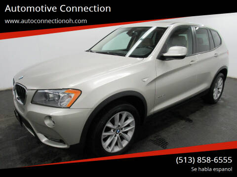 2013 BMW X3 for sale at Automotive Connection in Fairfield OH