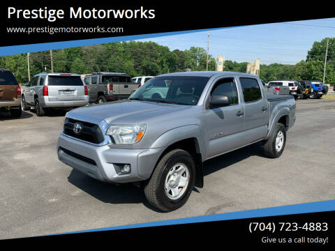 2015 Toyota Tacoma for sale at Prestige Motorworks in Concord NC