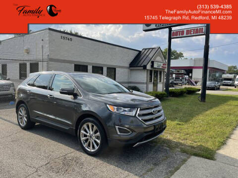 2017 Ford Edge for sale at The Family Auto Finance in Redford MI