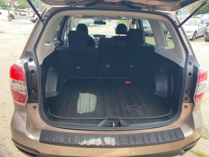 2015 Subaru Forester AWD 2.5i Premium 4dr Wagon CVT - Lawrence MA