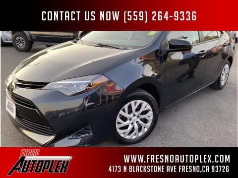 2018 Toyota Corolla for sale at Fresno Autoplex in Fresno CA