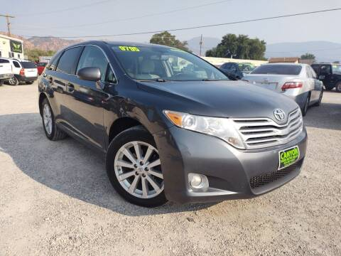 2010 Toyota Venza for sale at Canyon View Auto Sales in Cedar City UT