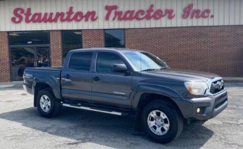 2012 Toyota Tacoma for sale at STAUNTON TRACTOR INC in Staunton VA