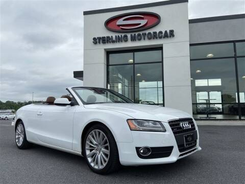 2010 Audi A5 for sale at Sterling Motorcar in Ephrata PA