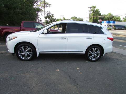 2014 Infiniti QX60 for sale at Nutmeg Auto Wholesalers Inc in East Hartford CT