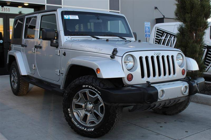 2010 Jeep Wrangler Unlimited for sale at UNITED AUTO in Millcreek UT