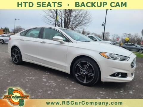 2015 Ford Fusion for sale at R & B Car Co in Warsaw IN