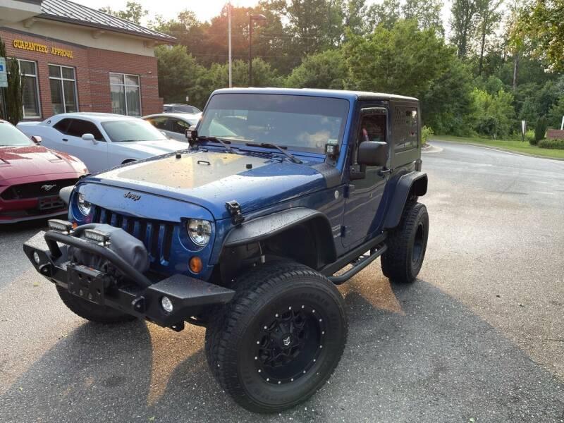 2010 Jeep Wrangler for sale in Fredericksburg, VA