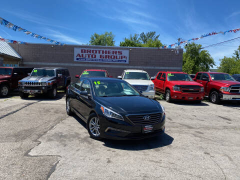 2015 Hyundai Sonata for sale at Brothers Auto Group in Youngstown OH