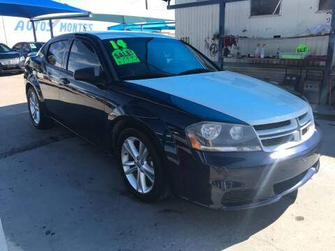 2014 Dodge Avenger for sale at Autos Montes in Socorro TX