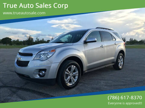 2015 Chevrolet Equinox for sale at True Auto Sales Corp in Miami FL