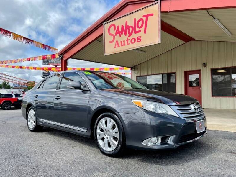 2011 Toyota Avalon for sale at Sandlot Autos in Tyler TX