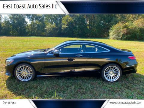 2015 Mercedes-Benz S-Class for sale at East Coast Auto Sales llc in Virginia Beach VA