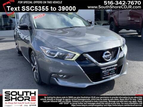 2018 Nissan Maxima for sale at South Shore Chrysler Dodge Jeep Ram in Inwood NY