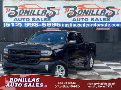 2016 Chevrolet Silverado 1500 for sale at Bonillas Auto Sales in Austin TX