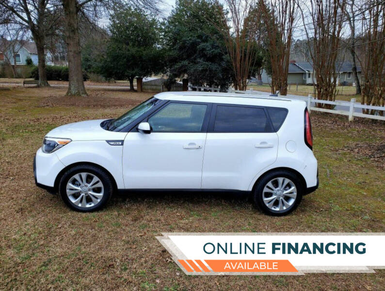 2015 Kia Soul for sale at Paramount Autosport in Kennesaw GA