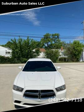 2014 Dodge Charger for sale at Suburban Auto Sales LLC in Madison Heights MI