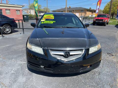 2005 Acura TL for sale at RON'S AUTO SALES INC in Cicero IL