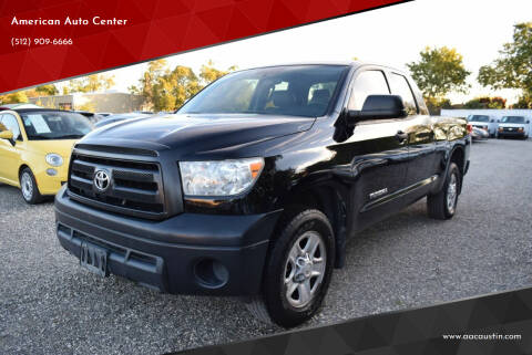 2012 Toyota Tundra for sale at American Auto Center in Austin TX